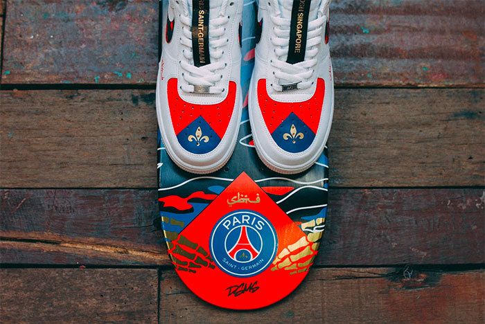 Sneaker Freaker Paris Saint Germain1 Fc Sabotage Collab 11