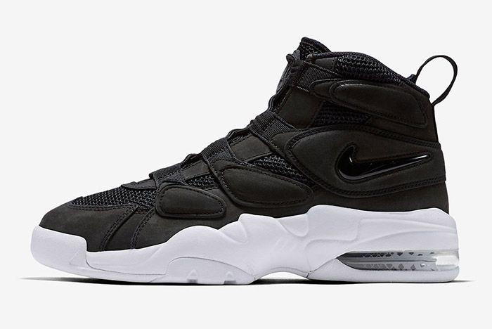 Nike Air Max Uptempo 2 Black White 4