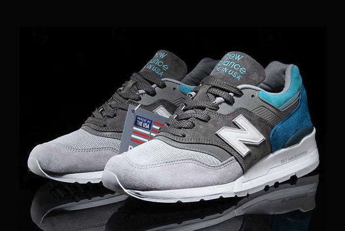 New Balance 997 Grey Blue Spectrum 6