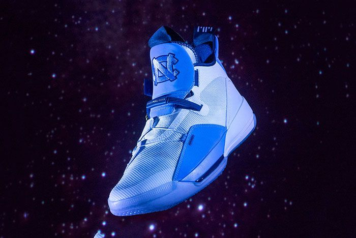 Air Jordan 33 Unc Pe Sneaker Freaker