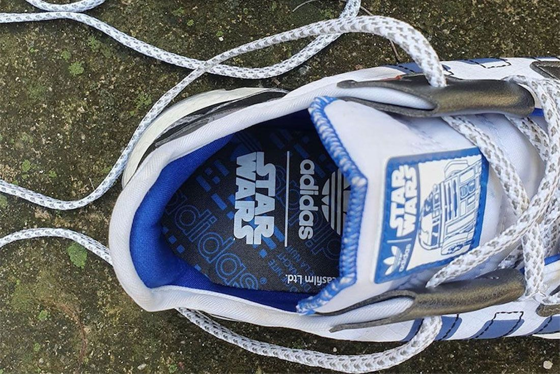 Star Wars Adidas Nite Jogger R2 D2 Release Date 4