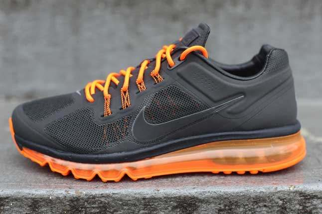 Nike Air Max 2013 Anthractie Totalorange Side Profile 1