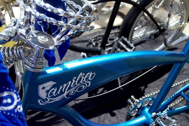 Saint Side Bike Show 2013 Familia La Raza 1