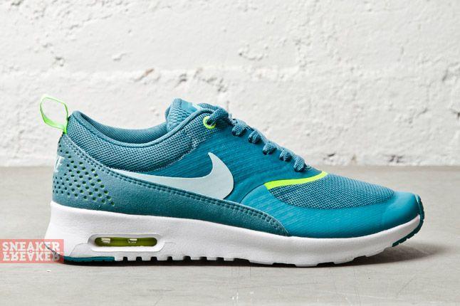 Nike Wmns Air Max Thea Mineral Teal Volt 3