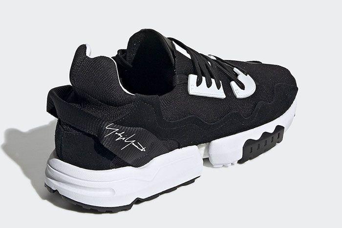 Adidas Y 3 Zx Torsion Black Ef2624 Rear Angle