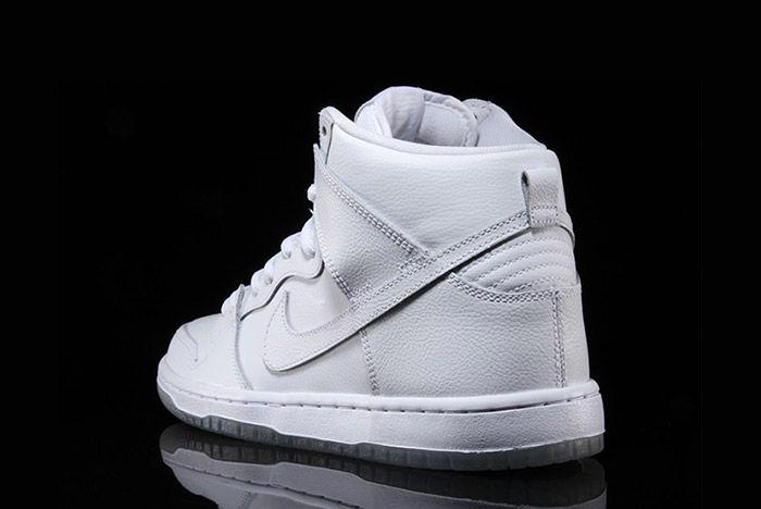 Nike Sb Dunk High Pro White 3
