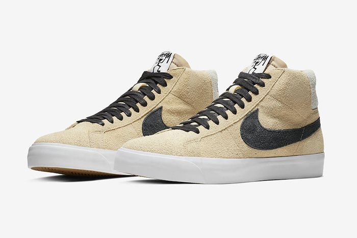 Stussy Nike Sb Blazer Mid Midwest Gold Official 1