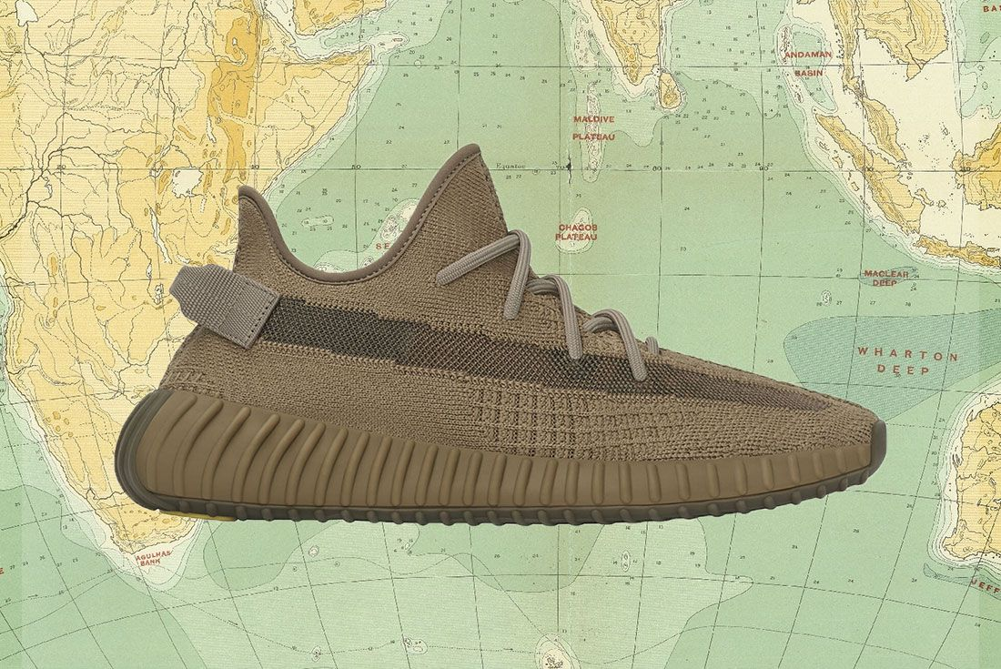 Yeezy Boost 350 V2 Earth Lateral Side Shot Wtb Header