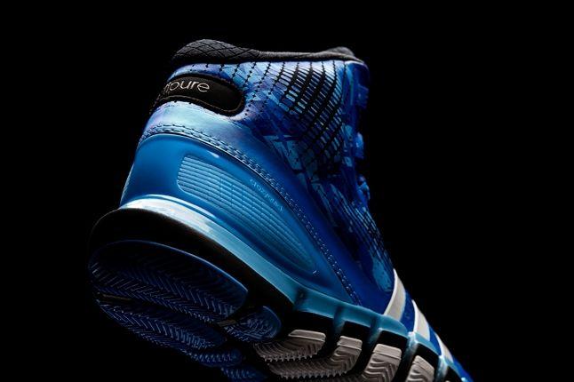 Adidas Crazyquick Triple Blue Heel Detail 1