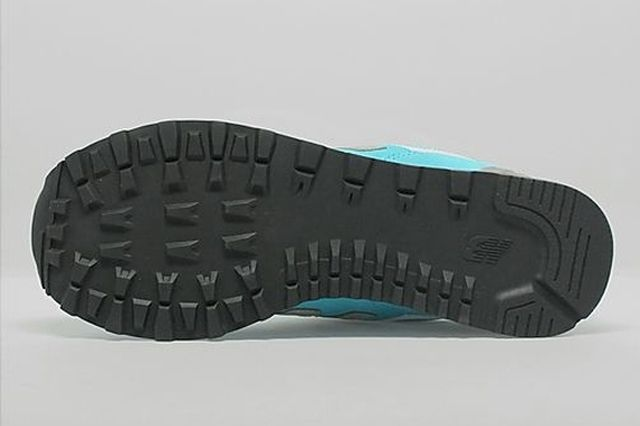 New Balance 574 Turquoise Silver White 3