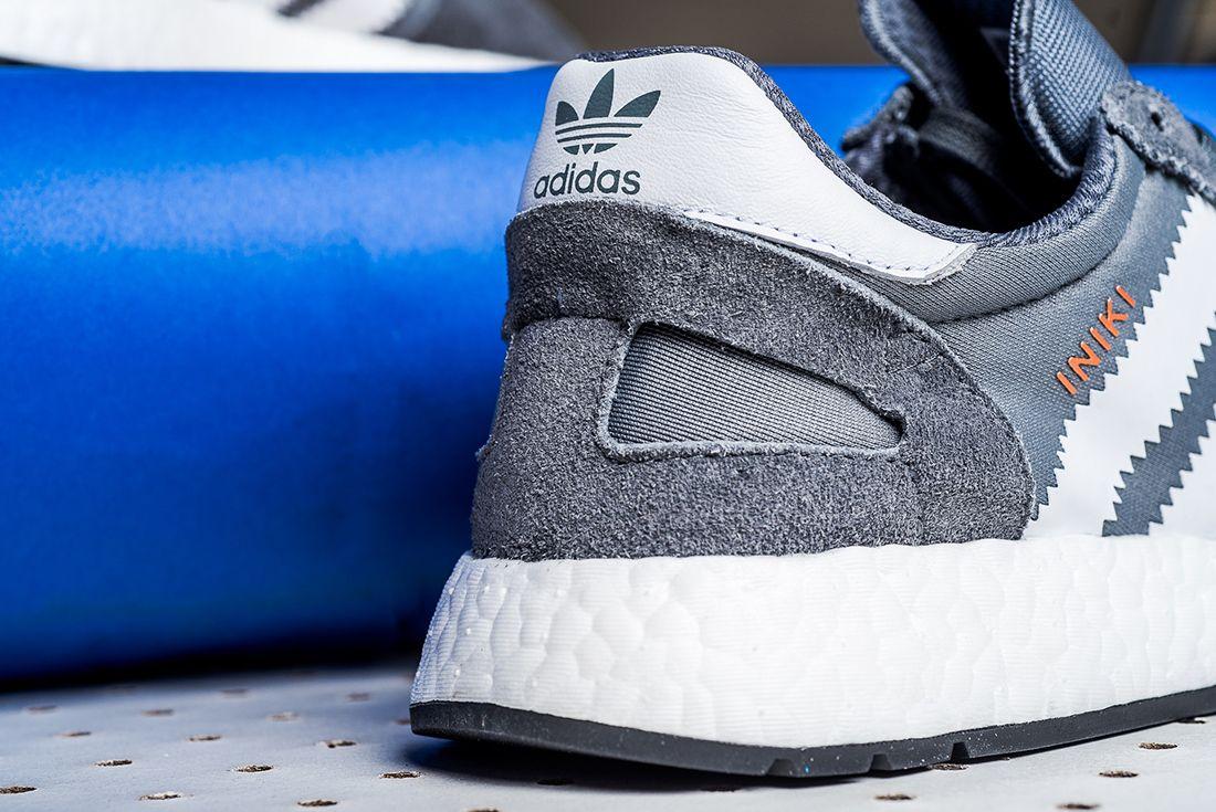 Adidas Iniki Runner Boost Grey White2