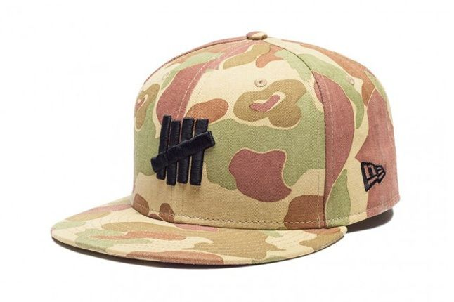 Undefeated Ss13 Washedcamo Fitted 1