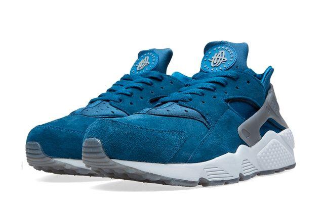 Nike Huarache Blue Force Bumperoo 4