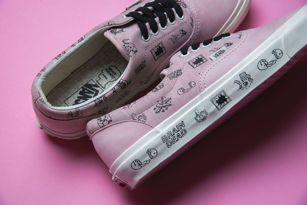 Brain Dead x Vans Collection