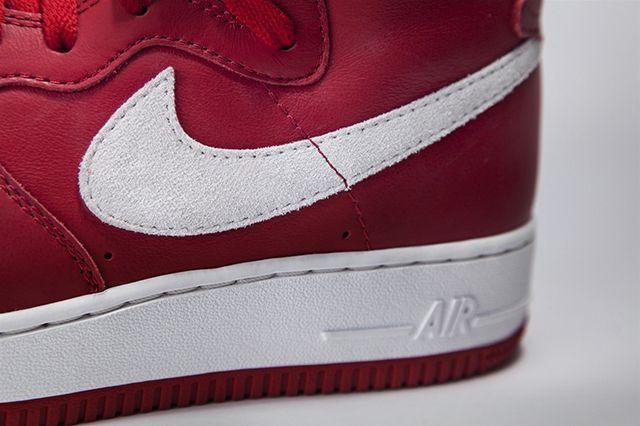 Nike Air Force 1 High Nai Ke Gym Red 02