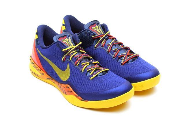 Nike Kobe 8 Deep Royal Yellow Hero