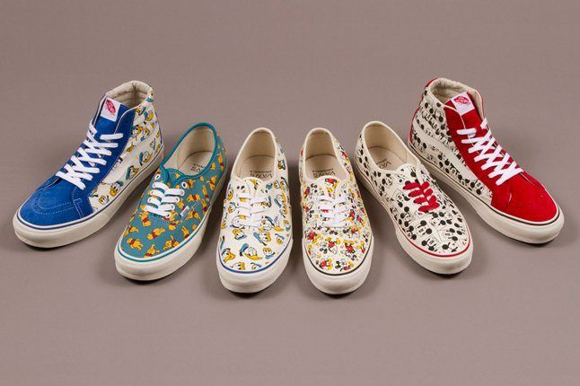 Vault By Vans X Disney Og Authentic And Og Sk8 Hi Lx Adult Fall 2013 2 1