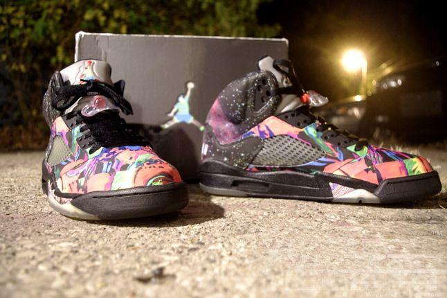 Fresh Prince Nike Air Jordan 5 Fresh Prince Quater Pair 2