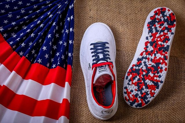 Puma Basket Independence Day Pack White 2
