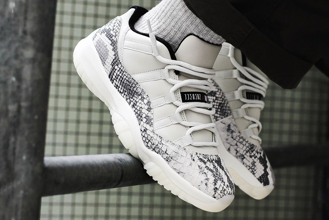 Air Jordan 11 Low Se Snakeskin6 On Foot
