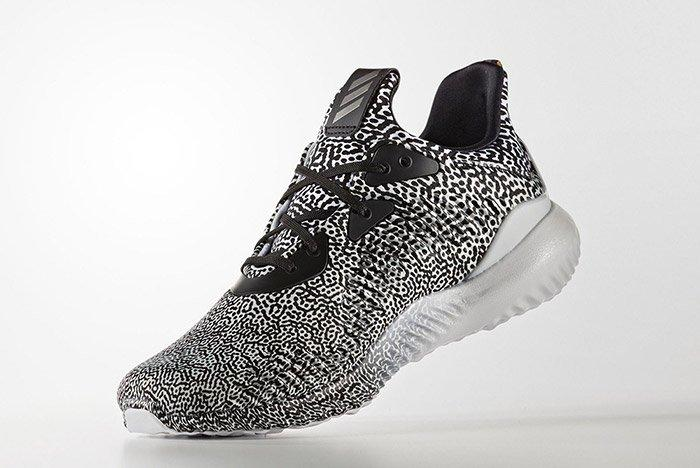 Adidas Alphabounce Core Black Metallic Small 3
