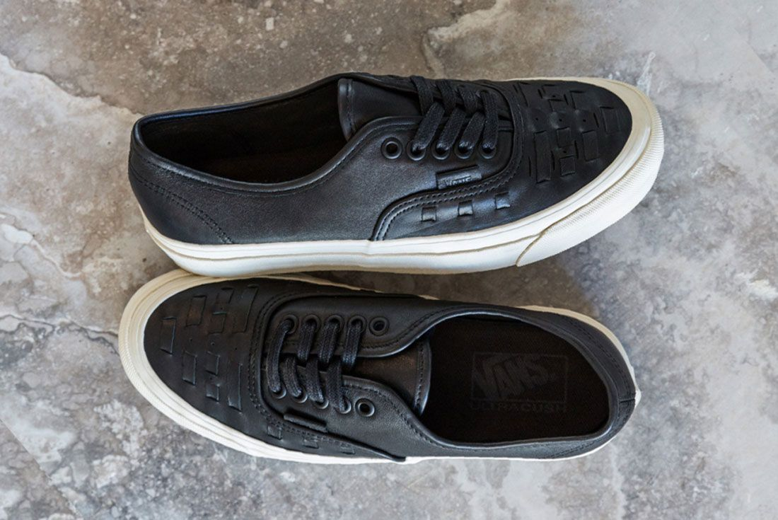 Vans Woven Leather Collection 1
