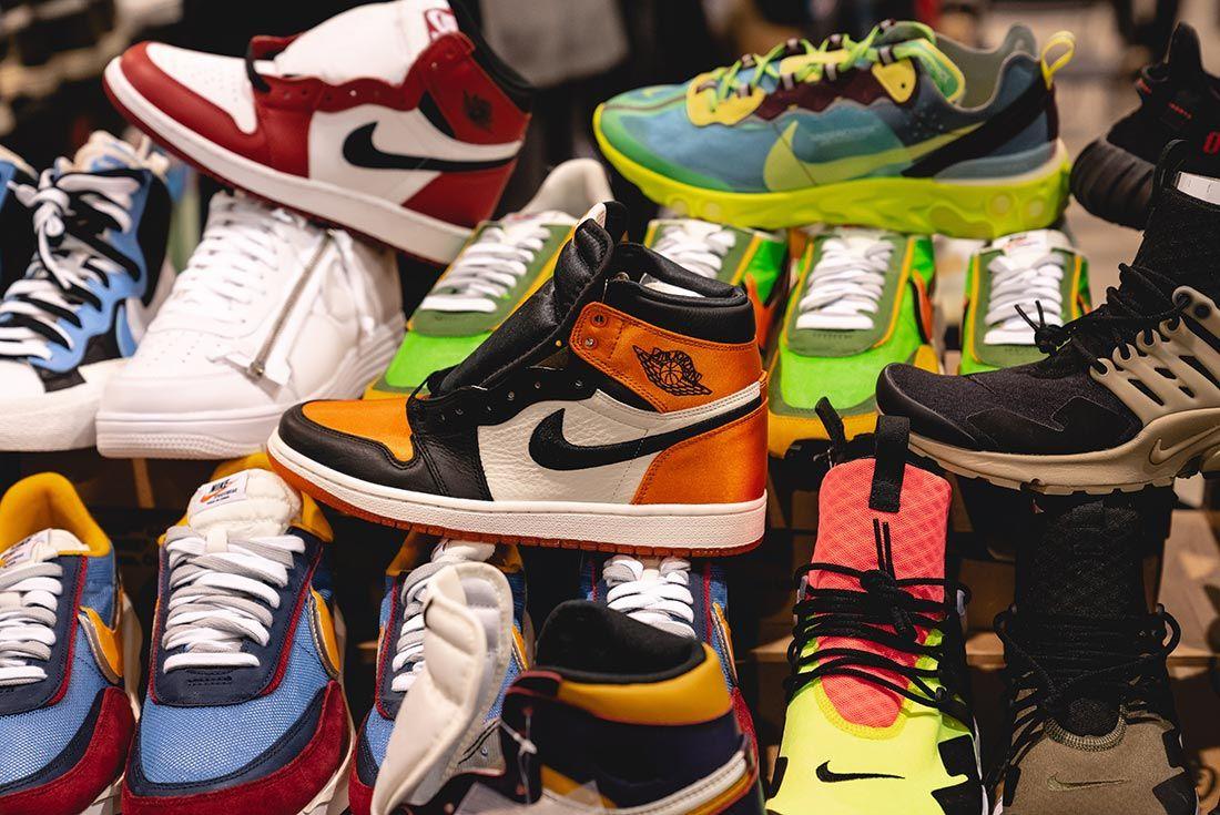 Sneakerness Paris Air Jordan Stall