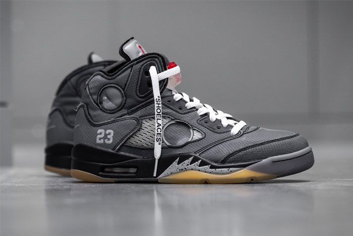 Off White Air Jordan 5 Right