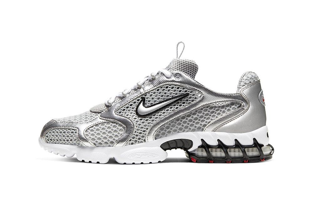 Nike Air Zoom Spiridon Cage 2 Smoke Grey Left