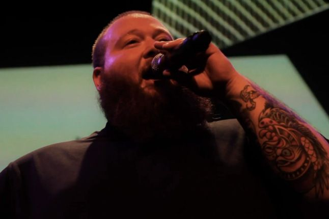 Action Bronson Melbourne On Stage 1