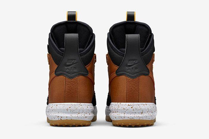 Nike Lunar Force 1 Duckboot Black Brown 2