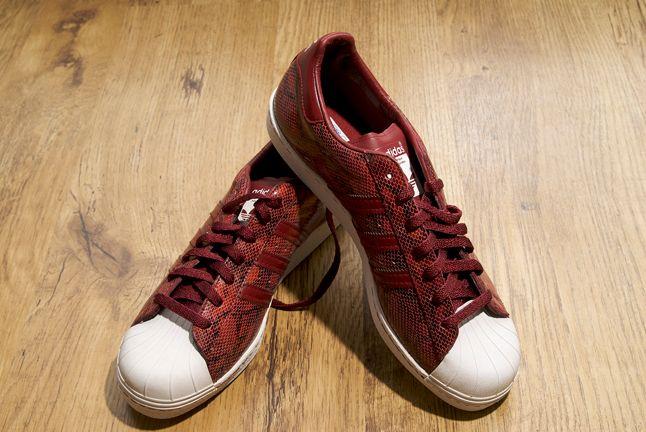 Adidas Superstar Red Snakeskin 1