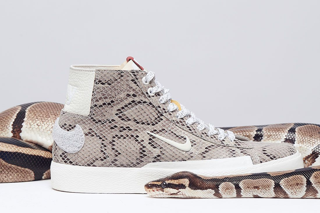 Soulland Nike Sb Blazer Snake Snakeskin Right