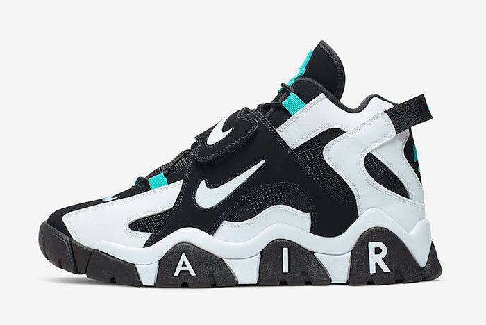 Nike Air Barrage Mid Black White Cabana At7847 001 Release Date Side