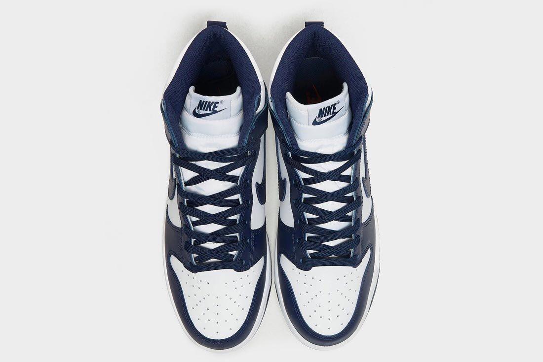 Nike Dunk High 'Midnight Navy'