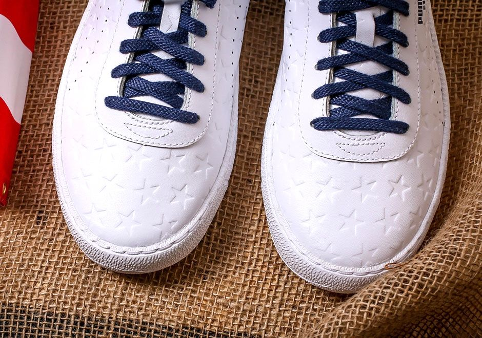 Puma Basket Independence Day Pack White 1