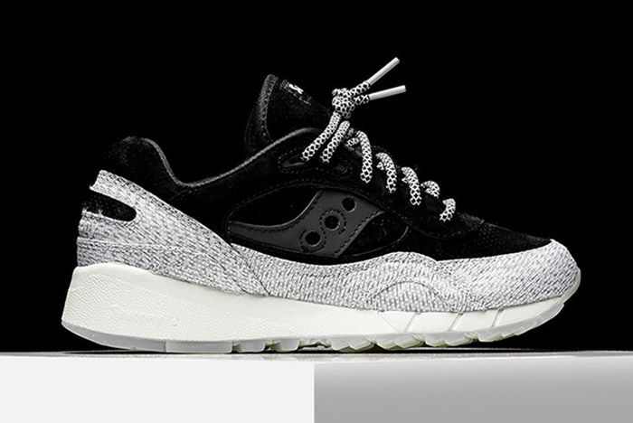 Saucony Dirty Grid 8000 Black 3