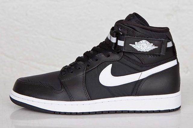 Air Jordan 1 High Strap Black White 2