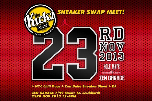 Kickz Stand Swapmeet Zen Garage