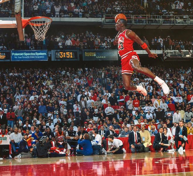 Michael Jordan 1988 Dunk Contest 30Th Anniversary Air Jordan 3 Free Throw Line Hero