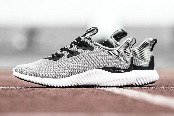 Adidas Alphabounce Grey 5