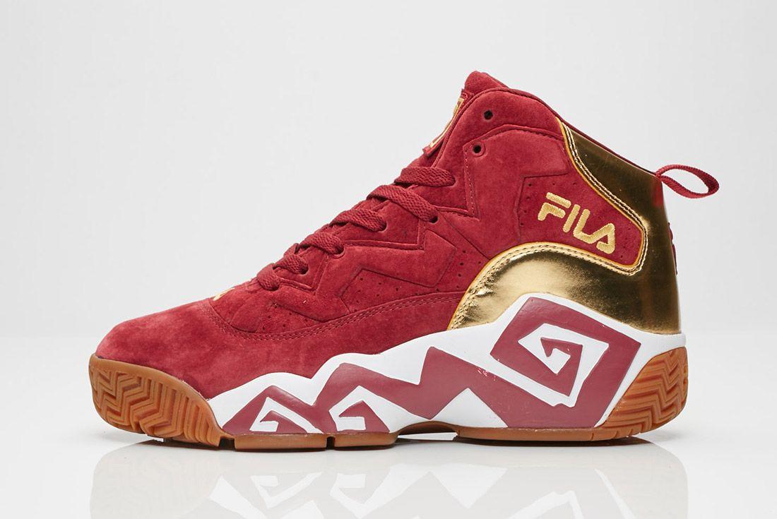 Fila Mb Tawney Port Metallic Gold Gum Sneaker Freaker 6