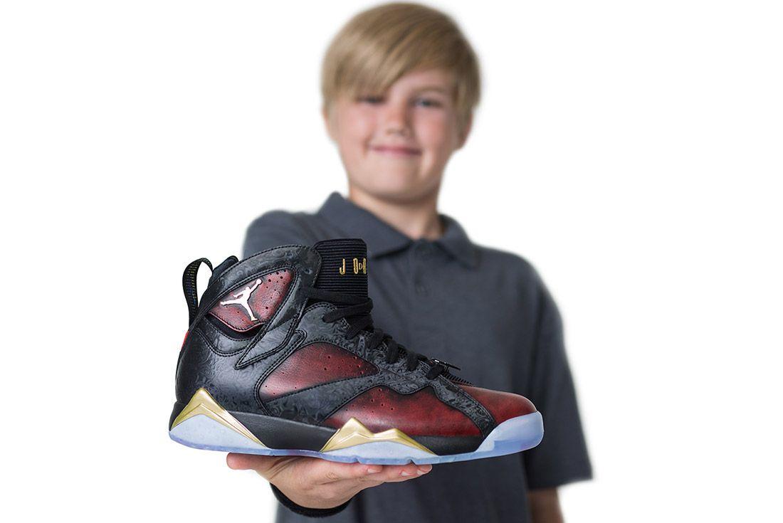 Doernbecher Freestyle Air Jordan 7 2