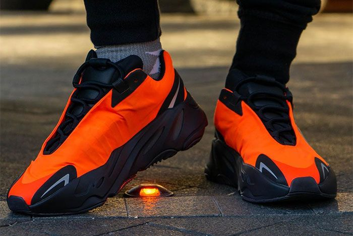 Adidas Yeezy Boost 700 Mnvn Orange Toe