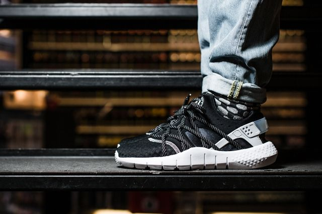 Nike Huarache Nm Black White 1