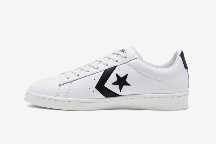Converse Pro Leather Ox Black Medial
