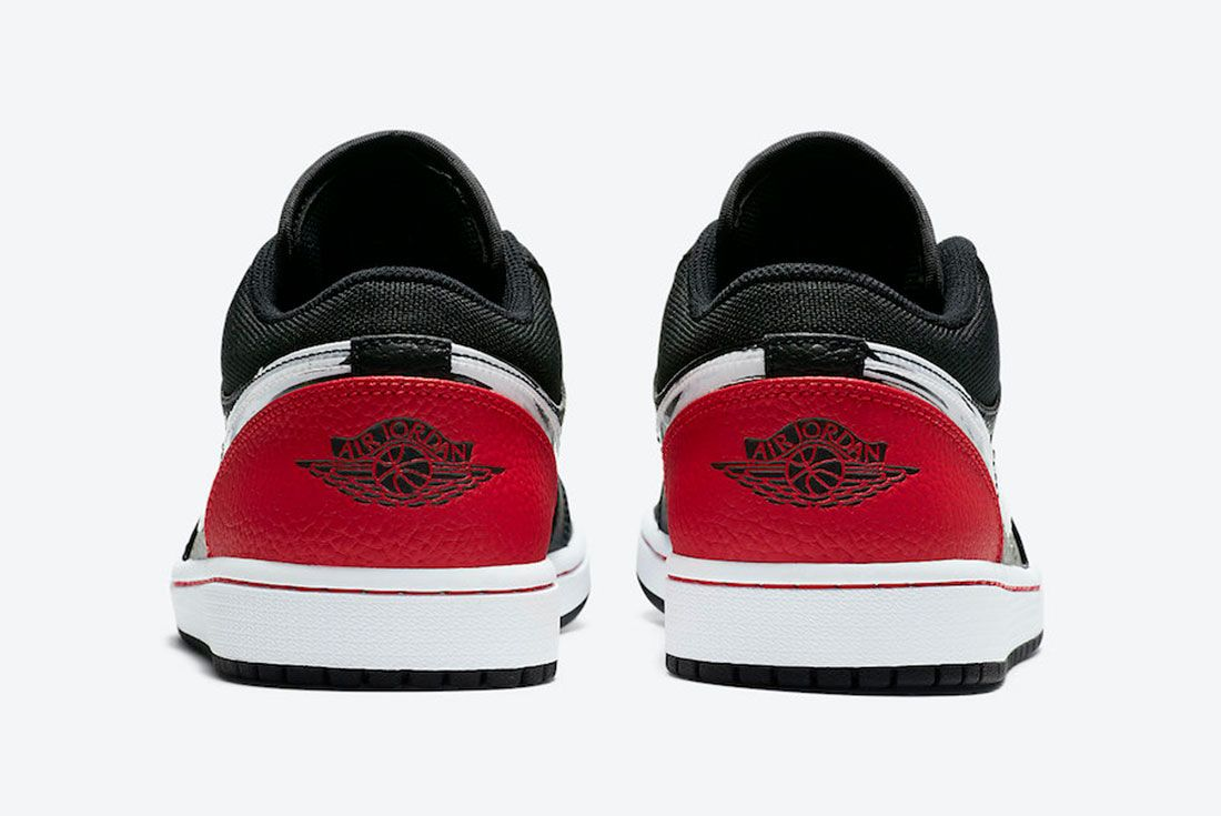 Air Jordan 1 Low Brushstroke DA4659-001