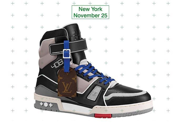Virgil Abloh Louis Vuitton Lv408 New York