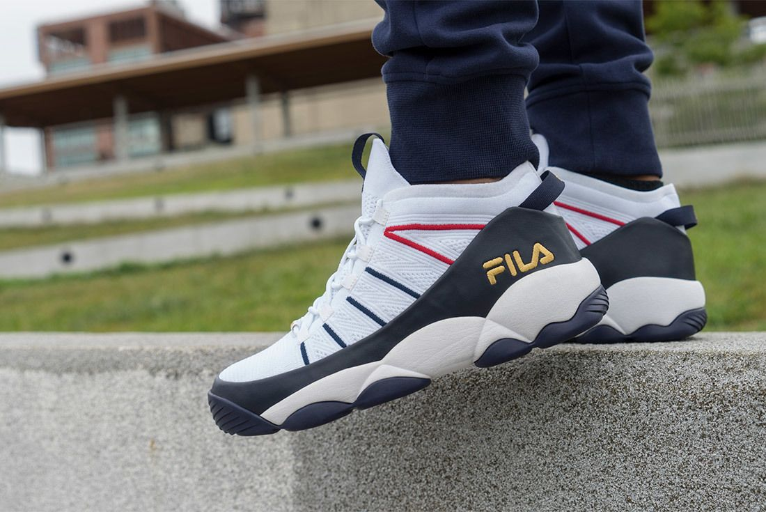 Fila All Conference Pack Mb Spaghetti Knit Original Tennis Varsity 3