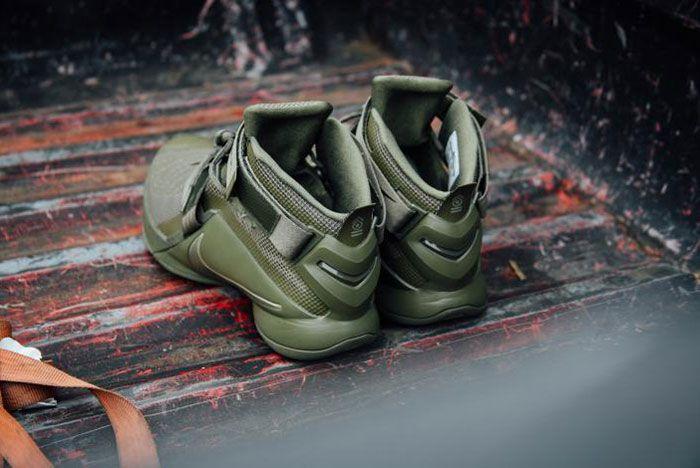 Nike Lebron Zoom Soldie 9 Olive 2